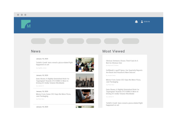Content Pages