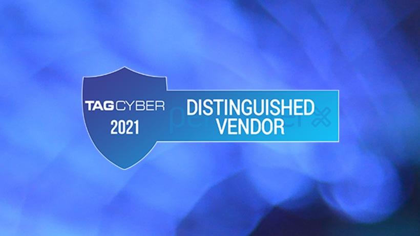 TAG Cyber 2021 - Distinguished Vendor