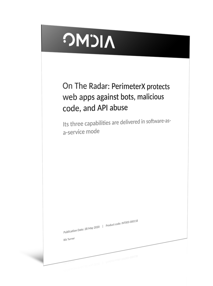 PerimeterX protects Web apps against bots, malicious code and API abuse